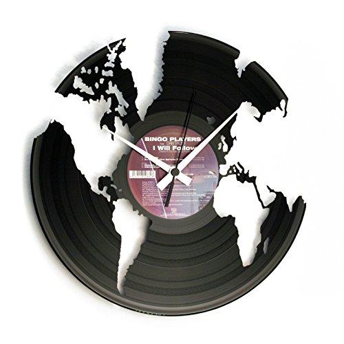 DISC O CLOCK DOC014 O péndulo 33 tornos World, Color Negro