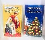 Oblaten zu Weihnachten Oplatek Wigilijny Swiateczny