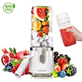 CLEESINK Portable Blender, Personal Blender for Shakes and Smoothies, Vacuum for Ice and Frozen...