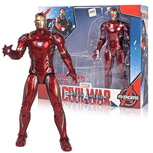 Iron Man 17CM Vengadores Infinity War Figura de acción con Caja