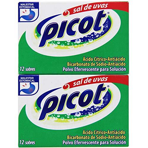 Sal de Uvas Picot - Citric Acid and Sodium Bicarbonate Antacid (24 Pack)