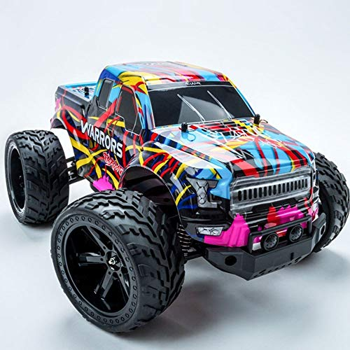 UTYING Remote Control Car, 4WD SUV 2.4Ghz 1:10high-Speed Racing Bigfoot Car, Love Electric Toy Gifts, Rechargeable Battery, Suitable for Children Boys Girls and Adults