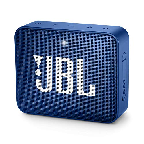 JBL Go 2 Portable Bluetooth Speaker - Blue (Renewed)