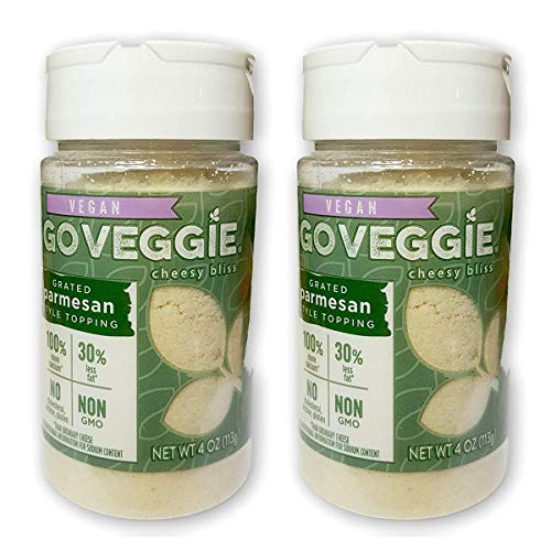 Go Veggie Vegan Parmesan Cheese 4 oz (2 pc)