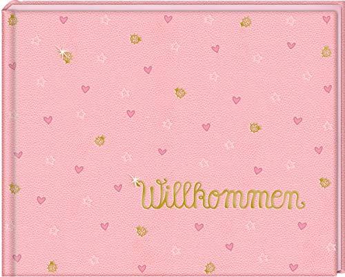 Babyalbum - BabyGlück - Willkommen: Rosa