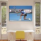 Ana Ivanovic Tennisspieler Poster Leinwanddrucke Gemälde