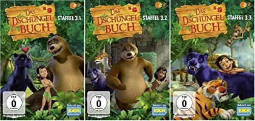 Das Dschungelbuch Staffel 3.1-3.3 (3.1+3.2+3.3) Ep. 105-156 [DVD Set]