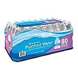 Member's Mark Purified Water 8 Oz. Bottle, 80 Pk. A1