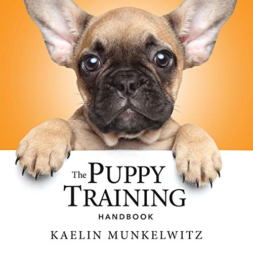 The Puppy Training Handbook audiobook cover art