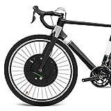 GJZhuan 36V Imortor Todo En Una Bicicleta Eléctrica Motor De La Rueda 20' 24' 26' 27.5 '700C 29' Amasado Batería De La Bici Kit De Conversión USB con Batería (Color : V App Control, Size : 20 in)