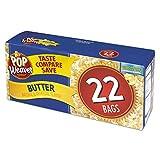 Pop Weaver Microwave Popcorn, Butter, 2.17oz Bag, 22/Box