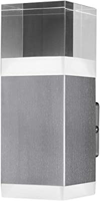 LEDVANCE adapté à mur   ENDURA STYLE CRYSTAL / 9 W   Blanc chaud   3000 K   steel   IP44