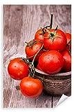 Postereck 3253 - Poster & Leinwand, Tomaten Küche Kochen