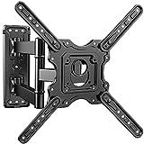 PERLESMITH テレビ壁掛け金具 32-55インチ対応 耐荷重40kg アーム式 多角度調節 VESA400x400mm
