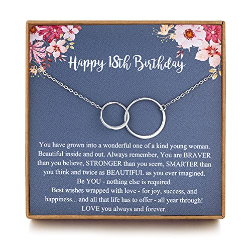 MUSIER PARIS Sweet 18th Birthday Gifts for Girls, 18 Year Old Girl Gifts, Birthday Gifts for her,...