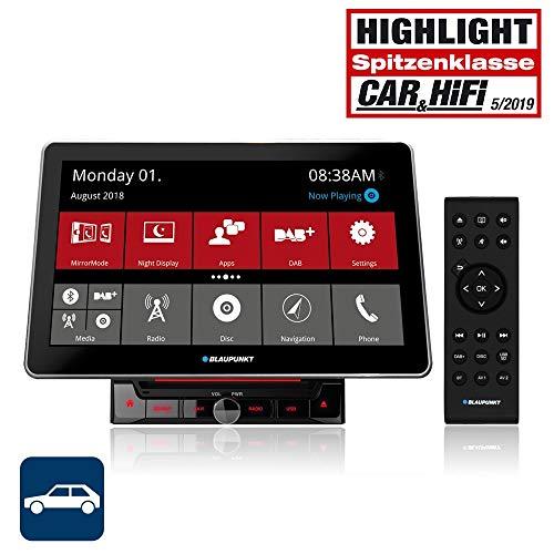 Blaupunkt Rome 990 DAB NAV CAR - 2-DIN Navigation mit Touchscreen/Bluetooth/TMC/USB/DVD / 3D