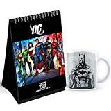 Dc Comics Designed Desk/Table Calendar- Officially Licensed product by Warner Bros, USA. Time span: 14 months ( November 2020 - December -2021 Featuring 14 months of easy Year round planning-Free sticker with calendar Made of durable white ceramic wi...