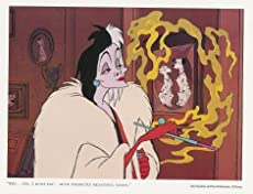 "Cruella DeVil in""Such Perfectly Beautiful Coats"" Fine Art Serigraph."