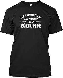 Awesome kolar Family Name t Shirt XLT - Black Tshirt - Hanes Tagless Tee
