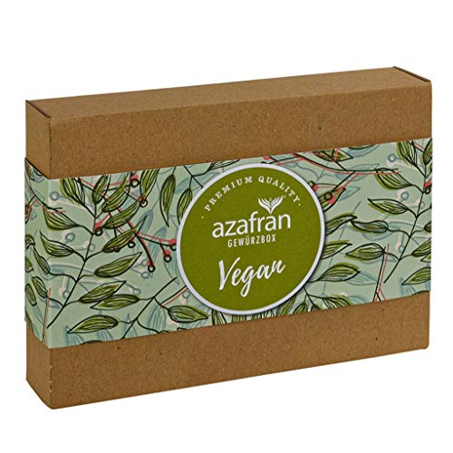 Azafran Gewürze Geschenk Set / Veggie Vegan Geschenkbox