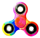 Premsons® 608 Four Bearing Water Transfer Printed ABS Material Tri Toy Spinner (Printed)
