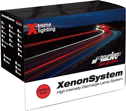 Simoni Racing C6HB3 HB3 Xénon Composé de 2 Ampoule DHI et 2 Ballast Slim Canbus 35 W et Câbles