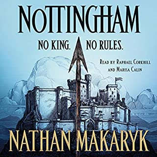 Nottingham audiobook cover art