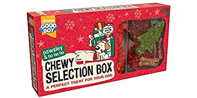 Good Boy Christmas Chewy Treat Selection Box for Dogs (10311)