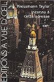 Inconnu à cette adresse - A Vue d'Oeil - 01/05/2004