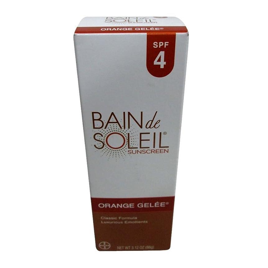 建設のヒープ財産Bain De Soleil SPF#4オレンジジュレ3.12オンス(92.3Ml)(6パック)