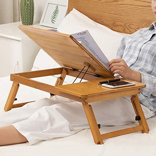 Bicaquu Höhenverstellbarer Klappbett-Schreibtisch, Hochleistungs-Laptoptisch, moderner Studenten-Laptoptisch für das Arbeitsschlafzimmer zu Hause