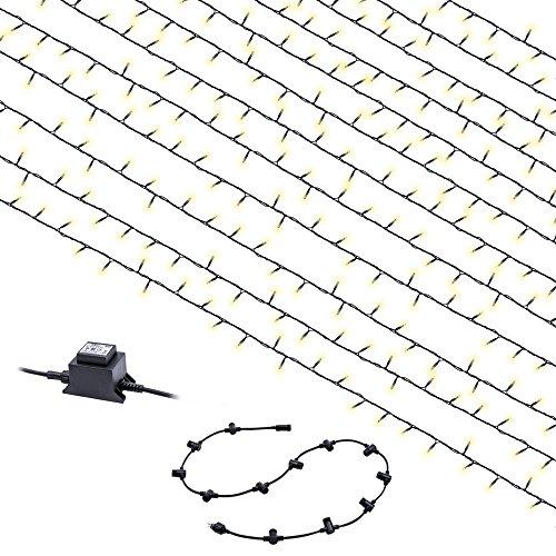 Heitronic Lichterkette LED VORHANGSYSTEM SET 110CM 240 LED | 39699