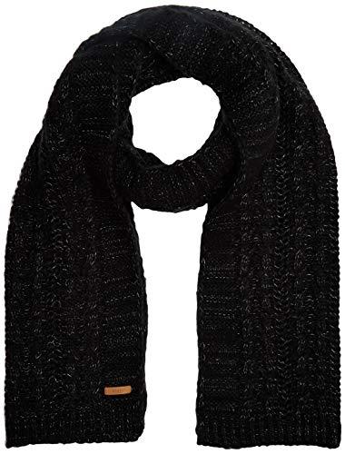 Barts Damen Anemone Scarf Schal, Schwarz (0001-BLACK 001L), One Size (Herstellergröße: Uni)