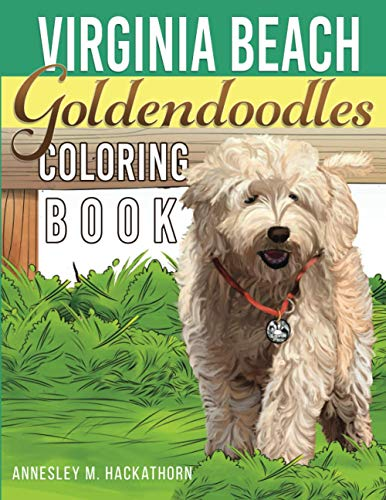 Virginia Beach Goldendoodles Coloring Book