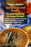Geldanlage und Kredit, So profitieren Sie im neuen Europa!