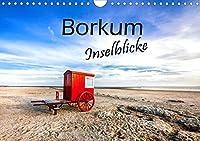 Borkum - Inselblicke (Wandkalender 2021 DIN A4 quer): Beeindruckende Facetten einer traumhaften Insel. (Monatskalender, 14 Seiten )