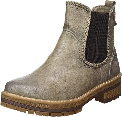 MUSTANG Damen 1344-601-308 Chelsea Boots, Braun (Erde 308), 42 EU