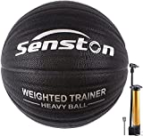 """Senston Weighted Control Training Basketball 29.5"""" for Improving Dribbling and Ball Control Heavy Trainer Basketball Ball Official Size 7"""