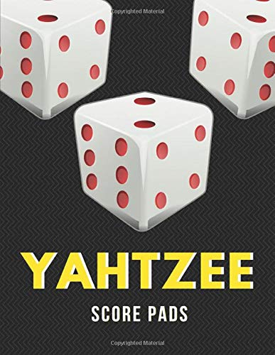 Yahtzee Score Pads: 120 Large Score Sheets for Scorekeeping Game Record Score Keeper Book, Dice Board Game, Yahtzee Game Score Pads (Yahtzee sheet) Fun for adults and kids