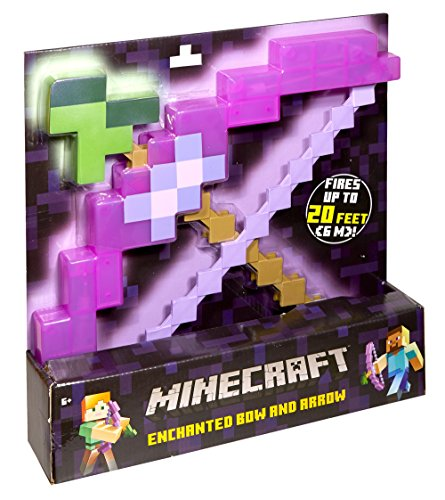 Product Image 1: Minecraft Enchanted Bow and Arrow [Amazon Exclusive]