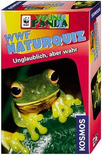 calidad fantástica Kosmos 710729 WWF Naturquiz  Unglaublich, aber wahr - Juego Juego Juego de preguntas sobre la naturaleza [Importado de Alemania]  entrega de rayos