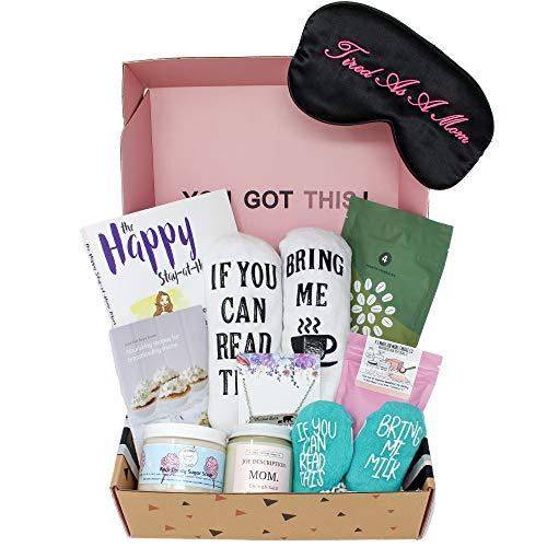 Milky Chic Gift Box for New Moms- 10 Unique Postpartum Personal Care Items for Mothers