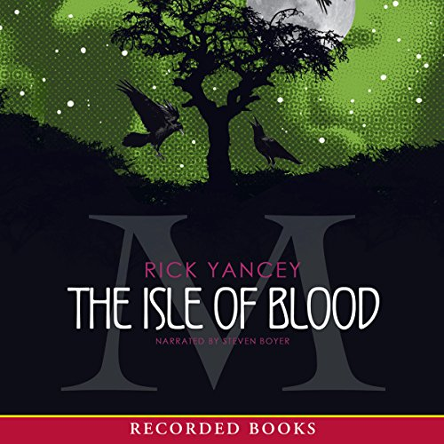 The Isle of Blood audiobook cover art