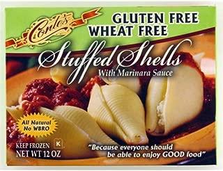 Gluten Free - Cheese Stuffed Shells W/tom Sauce Meal Pasta Frozen - 6 x 12 Oz