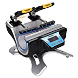 MuGuang ST-210 Double Mug Heat Press Machine DIY Cup Sublimation 2 Cups At One Time LCD Control for Cup...