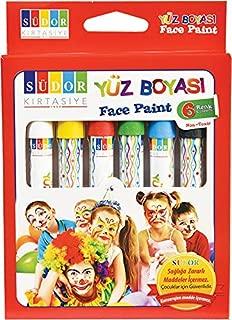 SUDOR YB01 Yüz Boyası, 6 Renk