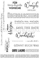 ドイツの透明なクリアシリコンスタンプシールDIYスクラップブッキングフォトアルバム装飾B33