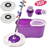 FDS Easy 360° Rotating Spin Magic Mop & Bucket Set Cleaning Kit Plus