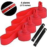 QitinDasen 4Pcs Premium PVC Antiforatura Nastro, 27.5