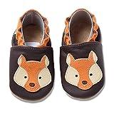 hobea-germany scarpe per bambini e bambine in diversi modelli (26/27 eu, volpe)